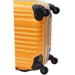 ヴァンテム スーツケース LA2 S 48L 4.8kg フレームハードキャリー 65 cm LA2-S オレンジ|gingaichimarket