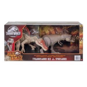 ジュラシック・ワールド スピノサウルス vs T-レックス かみつき JURASSIC WORLD Spinosaurus vs T-rex ティラノサウルスの画像