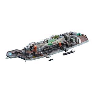 フジミ模型 1/3000 集める軍艦シリーズ No.99 軍艦島(端島) プラモデル 軍艦99