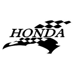 HONDA ホンダ ステッカー 車 バイク かっこいい スポーツマインド メーカー ロゴ ステッカー ginkage
