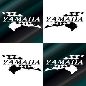 YAMAHA ヤマハ バイク ステッカー かっこいい レーシング メーカー エンブレム カッティング...