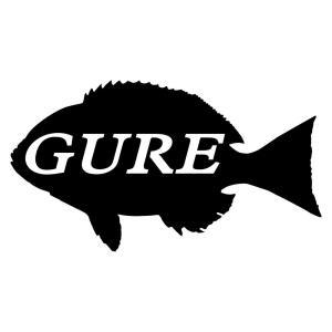 【釣具シール】 メジナ グレ 釣り ステッカー かっこいい ...