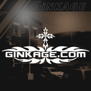 サーフ ステッカー かっこいい 車 ステッカー サイズ:12cm×28cm :白色 リアガラス ステッカー 車  ステッカー サーフ インテリア|ginkage