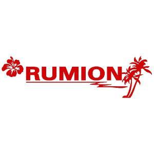 ルミオン ステッカー サーフ ステッカー 車 ステッカー エンブレム ハワイアン 赤色タイプ Sサイズ リアガラス用 他|ginkage