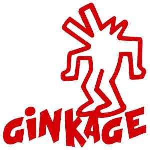 キース・ヘリング ステッカー サイズ :8cm×8cm(赤色) キースへリング ステッカー 車 ステッカー 車用  おもしろ  ステッカー 車 おもしろ|ginkage