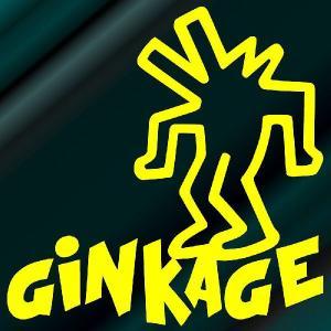 キース・ヘリング ステッカー サイズ :8cm×8cm(黄色) キースへリング ステッカー 車 ステッカー 車用  おもしろ  ステッカー 車 おもしろ|ginkage