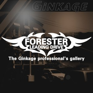 SUBARU スバル フォレスター かっこいい 車 ステッカー オリジナル メーカー ロゴ エンブレム リアガラス用 ginkage