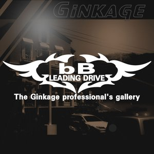 TOYOTA トヨタ bB かっこいい 車 ステッカー オリジナル メーカー ロゴ エンブレム リアガラス用 ginkage