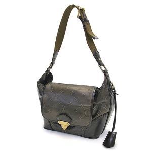 LOUIS VUITTON ルイヴィトン モノグラム セルジャンPM/ショルダーバッグ ブロンズ×ゴールド金具 M95463 バッグ/セミショルダー/かばん/カバン/鞄|ginkura