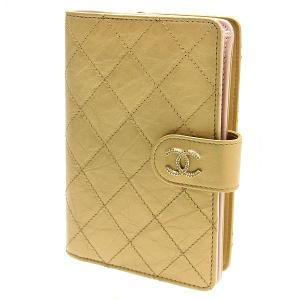 未使用品 CHANEL シャネル ココマーク パレット 財布/二つ折りサイフ ゴールド×ホワイト×ピンク×ゴールド金具 A68641|ginkura