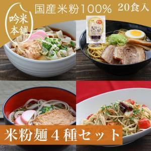 送料無料 米粉 麺セット 「お米屋さんの米粉」麺セット(1食130g)20食入(ラーメン・パスタ・う...
