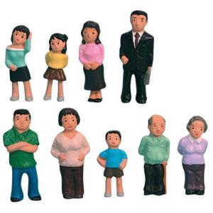 箱庭療法用具-家族人形セット|ginnnenndo