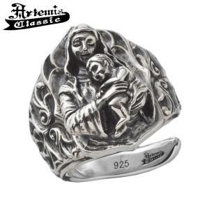 アルテミスクラシック Artemis Classic リング メンズ シルバー 聖母子リング マリア フリーサイズ 指輪 メンズリング...