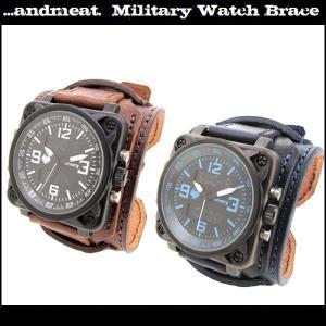腕時計 レザーウォッチ メンズ INFANTRY 限定コラボ ブランド レザー腕時計 メンズ ブレスレット ginnokura
