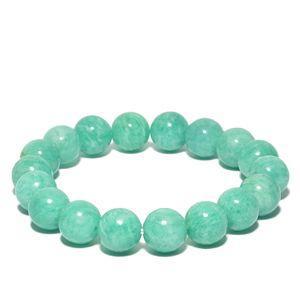 アマゾナイト ブレスレット 10mm 17cm 天然石 パワーストーン プレゼント 腕輪 数珠|ginnokura