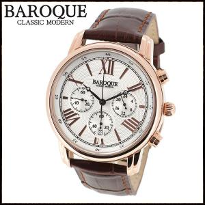 腕時計 メンズ ブランド バロック CLASSICO BA1003RG-04B メンズ腕時計 オシャレ|ginnokura