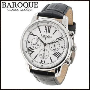 腕時計 メンズ ブランド バロック CLASSICO BA1003S-01B メンズ腕時計 オシャレ|ginnokura