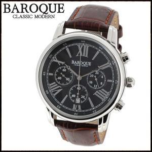 腕時計 メンズ ブランド バロック CLASSICO BA1003S-02BR メンズ腕時計 オシャレ|ginnokura