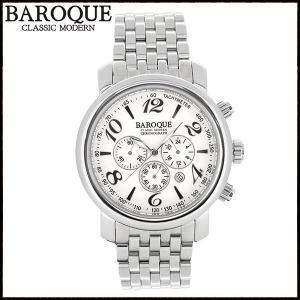 腕時計 メンズ ブランド バロック GENIO BA1005S-04M メンズ腕時計 オシャレ|ginnokura