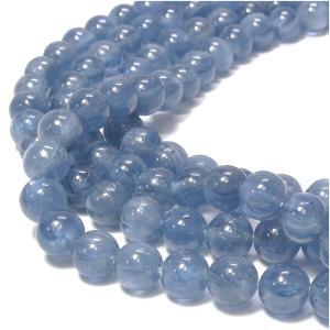 天然石ビーズ カイヤナイト 4mm 丸玉 10玉セット パワーストーン 天然石ビーズ カイヤナイト 粒売り プレゼント|ginnokura