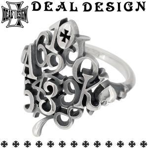 ディールデザイン DEAL TEARS リング 指輪 メンズ レディース シルバー シャッフルカード 数字 トランプ 7-23号 ブランド...