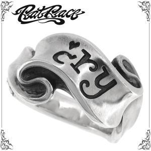 ラットレース リング 指輪 メンズ シルバー リボンリング クライ 5-30号 ブランド r.l.d シルバー925 メンズ レディース ginnokura