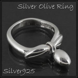 シルバーリング レディース オリーブ 9-24号 ブランド 指輪 シルバー925 シルバーリング レディース|ginnokura