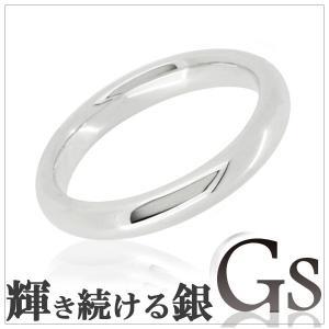 シルバーリング レディース 刻印 GS 甲丸 5-12号 指輪|ginnokura
