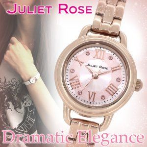 腕時計 レディース おしゃれ ブランド ジュリエットローズ JUL-501S ヴィオラ ピンクゴールド 腕時計 プレゼント 女性|ginnokura
