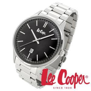 Lee Cooper リークーパー 腕時計 メンズ ブランド ステンレスベルト ブラック LC06292.350 時計 Lee Cooper リークーパー|ginnokura