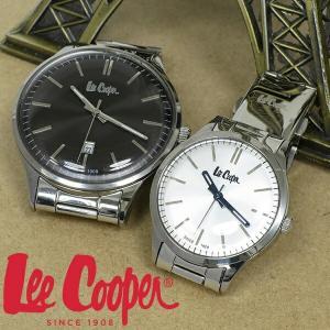 ペアウォッチ ブランド 腕時計 Lee Cooper リークーパー メタルバンド シンプル 時計 ペア お揃い カップル 夫婦 ペアウォッチ|ginnokura