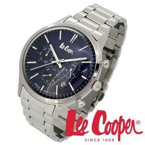 Lee Cooper リークーパー 腕時計 メンズ ブランド ステンレスベルト ネイビー LC06295.390 時計 Lee Cooper リークーパー|ginnokura