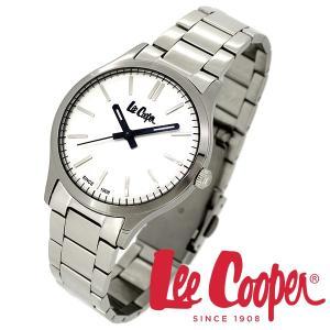 Lee Cooper リークーパー 腕時計 メンズ ブランド ステンレスベルト シルバー LC06300.330 時計 Lee Cooper リークーパー|ginnokura