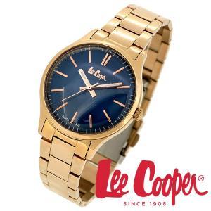 Lee Cooper リークーパー 腕時計 メンズ ブランド ステンレスベルト ネイビー LC06300.490 時計 Lee Cooper リークーパー|ginnokura