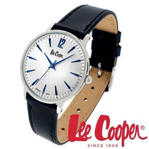 Lee Cooper リークーパー 腕時計 レディース ブランド レザーベルト ネイビー LC6378.339 時計 Lee Cooper リークーパー|ginnokura