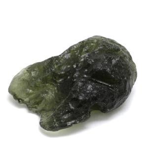 モルダバイト 原石 約6.8g 天然石 パワーストーン 隕石 置物 プレゼント|ginnokura