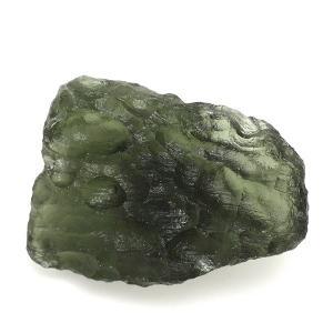 モルダバイト 原石 約3.2g 天然石 パワーストーン 隕石 置物 プレゼント|ginnokura