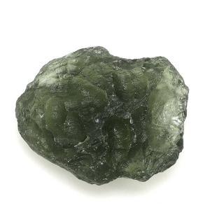 モルダバイト 原石 約3.1g 天然石 パワーストーン 隕石 置物 プレゼント|ginnokura