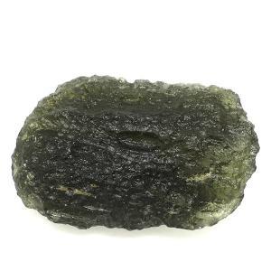 モルダバイト 原石 約4.5g 天然石 パワーストーン 隕石 置物 プレゼント|ginnokura