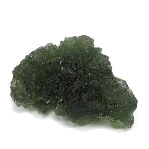 モルダバイト 原石 約4.4g 天然石 パワーストーン 隕石 置物 プレゼント|ginnokura