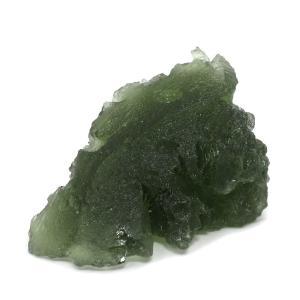 モルダバイト 原石 約3.4g 天然石 パワーストーン 隕石 置物 プレゼント|ginnokura