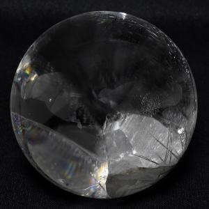 天然水晶玉 最高級 天然 貫入水晶 丸玉 約48mm 天然石...