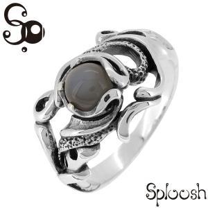 シルバーリング メンズ グレームーンストーン 10-20号 ブランド 指輪 シルバー925 メンズリング|ginnokura