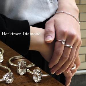 ハーキマーダイヤモンド リング 原石 1.0ct 指輪 レディース シルバー 一粒 8-15号 クォーツ 誕生石 4月 天然水晶 ギフトBOX プレゼント|ginnokura