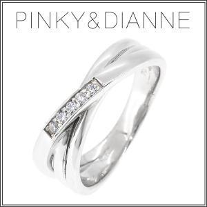 ピンキー&ダイアン ピンキーリング 指輪 レディース シルバー スリーライン ジルコニア 2-6号 ピンキーアンドダイアン|ginnokura