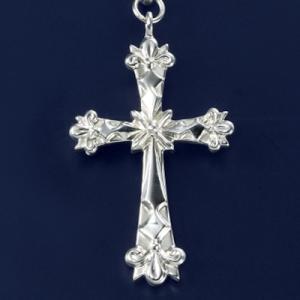 クロス 飾りチェーン付ネックレス|ginnosaji