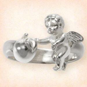 天使とりんごのリング|ginnosaji
