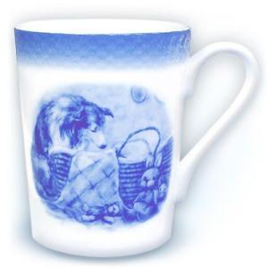 シェルティー『眠りのかたわらで』(マグカップ) ginnosaji