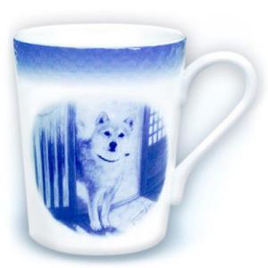 柴犬『たそがれの中で』(マグカップ) ginnosaji