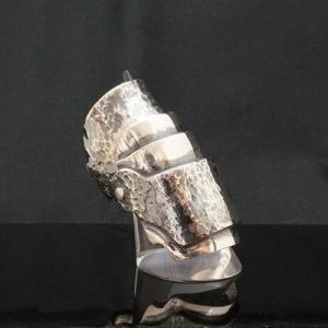 アーマーリング typeA   メンズ   シルバー   可動   silver ring   銀の環 ginnowa